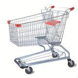 Heißer Förderung-preiswerter Entwurfs-faltbare Einkaufen-Laufkatze, Supermarkt-Einkaufswagen