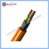 Câble ignifugé résistant au feu sur le fil électrique BS6387 S. W. Z