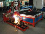 Plasma do CNC e máquina de estaca da flama com ISO