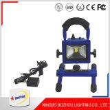 Высокая мощность 20Вт светодиод початков аккумуляторный прожектор