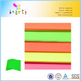 Papel coloreado fluorescente