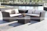 Для использования вне помещений Kd плетеной вид в разрезе диван, дешевые новые плетеной диван/PE сад диван