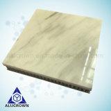 Comitato di alluminio di pietra di marmo da tavolo del favo per la decorazione della stanza