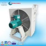 Охладители масла в охладитель с воздушным охлаждением воздуха из гидросистемы с электровентилятора системы охлаждения двигателя