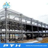 Edifício claro pré-fabricado personalizado da construção de aço do baixo custo