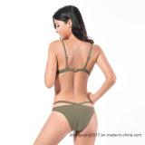 Venda por grosso de fábrica Biquini Sutiã push-up Lady Bikini Sexy calções de banho