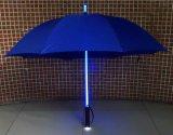 23inch que anuncia o guarda-chuva desobstruído do diodo emissor de luz com flash claro