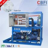10 da câmara de ar toneladas automáticas de máquina de gelo para o mercado de Myanmar