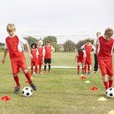 De Tellers van het Gebied van het Voetbal van de voetbal