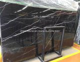Mattonelle di marmo nere cinesi per la pavimentazione