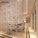 Außenwand-dekoratives Metall täfelt modulare Partition
