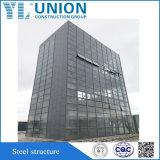 Alto alto ufficio complicato dell'hotel di Buidling della struttura d'acciaio di configurazione di aumento di Qualtity