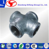 ステンレス鋼の管Fitting/PVCの管付属品または黄銅の管付属品または可鍛性鉄の管付属品または肘の管付属品またはティーの管付属品か炭素鋼の管付属品