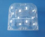 4 PCS 애완 동물 크리스마스 Apple 포장을%s 플라스틱 명확한 플라스틱 상자 포장 과일 상자