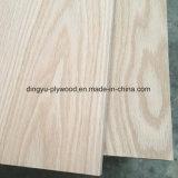 Chapa de madera de roble rojo / de contrachapado de madera contrachapada de Carb / EPA de contrachapado de madera contrachapada de grado / comercial