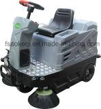 Conduite de petite taille sur la balayeuse électrique de machine rapide