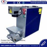 De Machine van de Druk van de Laser van de Vezel van de Streepjescode van Qr 20W op Plastieken