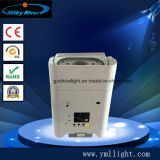 Pequenas luzes LED plana operados por bateria com controle remoto e sistema de carga 12V caso de Voo