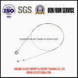 El cable de control de la alta calidad con a presión el remache y la bola de la fundición