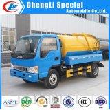 最もよい価格の5cbm真空の下水のトラック4X2の下水の吸引のタンク車