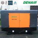 8 bar la vis de moteur diesel stationnaire compresseur à air pour la construction de la machine