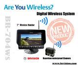 Цифровой сигнал беспроводной системы заднего вида с ИК (BR-704WS)