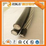 кабель электричества оболочки 3X1.5 mm2 плоский