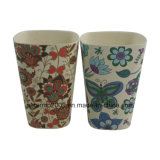 Tazza di caffè di bambù a forma di della fibra di stile del quadrato alla moda creativo squisito di Custome