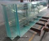Vidros temperados ou formados por folhas de vidro Ultratransparente balaustrada
