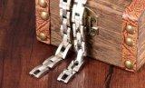 Regali maschii robusti dei monili dell'acciaio inossidabile dei braccialetti dei braccialetti Chain di colore 10mm dell'argento del braccialetto degli uomini largamente per i regali del ragazzo
