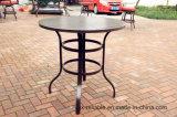 Altos muebles de cena del aluminio de la mesa redonda del jardín 42 ''