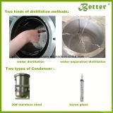 추출을%s 넓은 사용법 Essebtial 기름 증기 증류기 또는 증류법