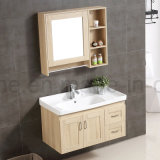 Heißer verkaufender moderner festes Holz-Wand-Fall-Badezimmer-Schrank (ACS1-W89)