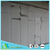 Painel de parede do sanduíche do cimento do EPS da estrutura concreta/material de construção para a zona tropical