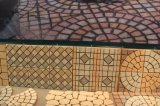 Grigio naturale/nero/giardino del granito/cubo del ciottolo/bandierina/bordo/figura rossa/gialla ventilatore/dei ciechi/pietre per lastricati per modific il terrenoare