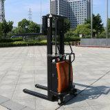 新しいデザイン1000kg頑丈な半電気スタッカー