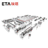 Imprimante pour faire de tube de lumière LED ETA (P6561) Pâte à souder de BPC de l'imprimante automatique