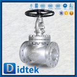 Válvula de globo confiable del surtidor CF8m de Didtek con el volante de dirección
