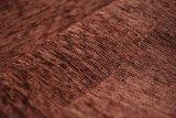Tissu de sofa de Chenille de Brown par le prix meilleur marché (FTH31004B)