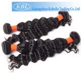 Индийские волосы волны человеческих волос 3A глубокие