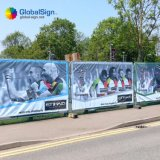Bandiere su ordinazione del PVC, bandiere del vinile di stampa di Digitahi da vendere