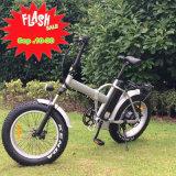 vélo électrique du gros pneu 20inh pliable