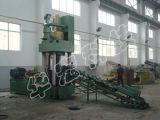 기계 Ye83-500를 재생하는 자동적인 알루미늄 철 금속 작은 조각 유압 연탄