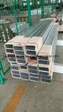 La poudre en aluminium de tubes de profil d'extrusion a enduit 6063 T5 5042 5005 3003 1060