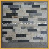 Split Quartz naturel de la culture pour les murs de pierre de tuiles