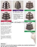 Hot vente rouleau 10 pouces pour l'ingénierie de la faucheuse de bits de métal