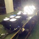 Indicatore luminoso di effetto di fase dei paraocchi di RGB DMX LED della PANNOCCHIA del DJ