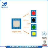 Crear la escritura de la etiqueta adhesiva de la etiqueta engomada para requisitos particulares del cambio del color de Senstive del calor
