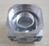 알루미늄 복잡한 구조를 위한 CNC 선반 부속을%s 가진 주물을 정지하십시오