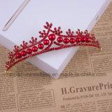 2018 de Nieuwste Aangepaste Bruids Kroon van de Tiara's van de Gift van Kerstmis van Stonne van het Glas van het Huwelijk van de Kroon van het Kristal (BC-07)